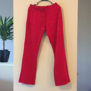 VELOUR PANTS STRETCH SOFT JOGGING TRACK JOGGERS